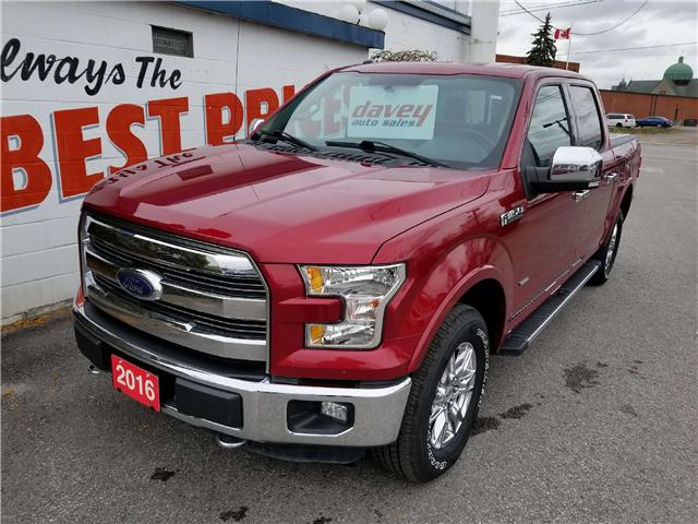 2016 Ford F-150 Lariat (Stk: 18-707) in Oshawa - Image 1 of 16