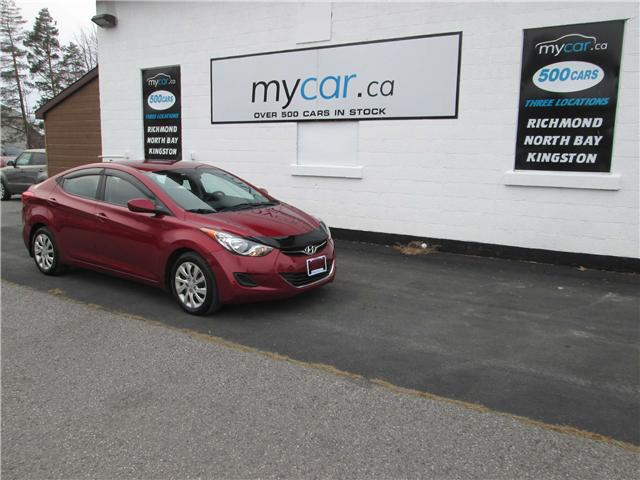2013 Hyundai Elantra GL (Stk: 181663) in Richmond - Image 2 of 13