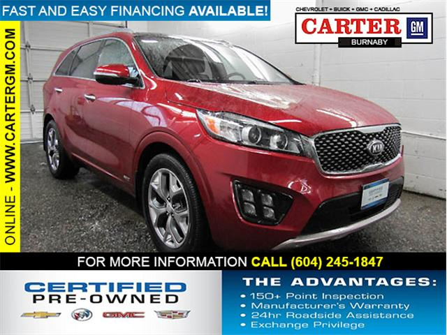 2016 Kia Sorento 3.3L SX (Stk: 88-45511) in Burnaby - Image 1 of 24