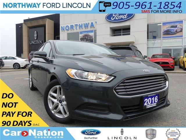2016 Ford Fusion SE | REA CAMERA | LOW KM | BLUETOOTH | (Stk: EC86773A) in Brantford - Image 1 of 23