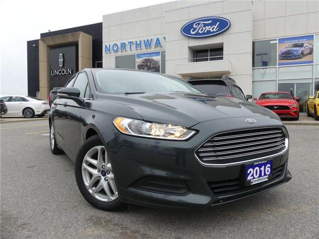 2016 Ford Fusion SE | REAR CAMERA | LOW KM | BLUETOOTH | (Stk: EC86773A) in Brantford - Image 2 of 23
