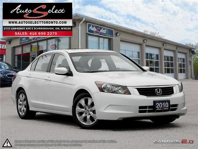 2010 Honda Accord  (Stk: 1HACD9W) in Scarborough - Image 1 of 28
