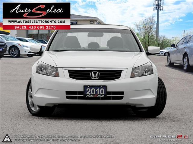 2010 Honda Accord  (Stk: 1HACD9W) in Scarborough - Image 2 of 28