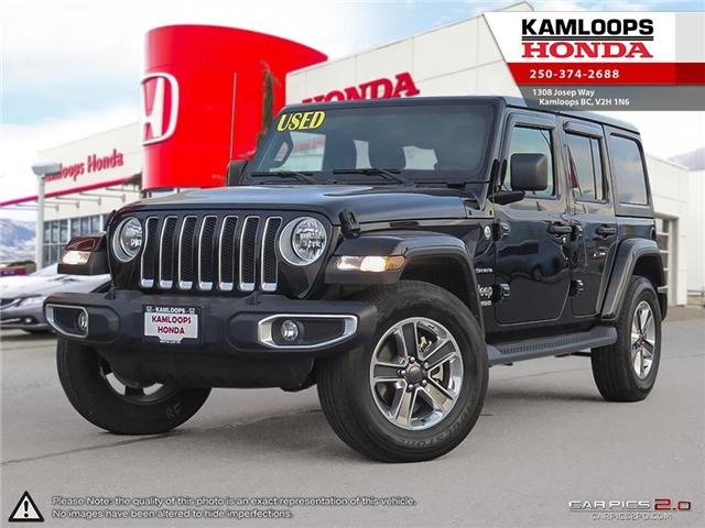 2018 Jeep Wrangler Unlimited Sahara (Stk: 13704B) in Kamloops - Image 1 of 26