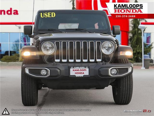 2018 Jeep Wrangler Unlimited Sahara (Stk: 13704B) in Kamloops - Image 2 of 26