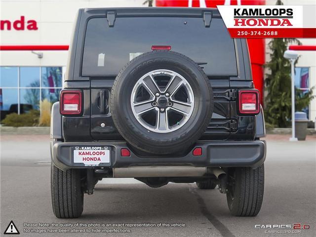 2018 Jeep Wrangler Unlimited Sahara (Stk: 13704B) in Kamloops - Image 5 of 26