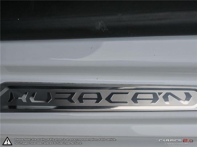 2017 Lamborghini Huracan LP 580-2 (Stk: 18MSX688) in Mississauga - Image 27 of 28