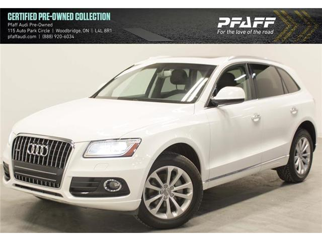 2015 Audi Q5 2.0T Progressiv (Stk: C6292) in Vaughan - Image 1 of 14