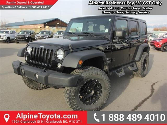 2016 Jeep Wrangler Unlimited Sport (Stk: X033494A) in Cranbrook - Image 1 of 16