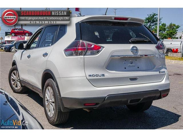 2016 Nissan Rogue  (Stk: P7645) in Scarborough - Image 6 of 21