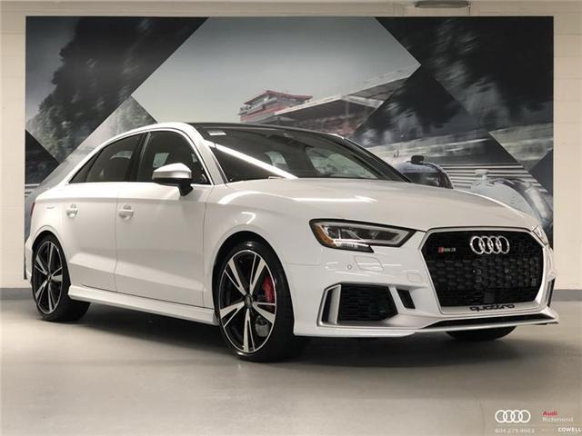 2018 Audi RS 3 2.5T (Stk: AUPD1029) in Richmond - Image 1 of 22