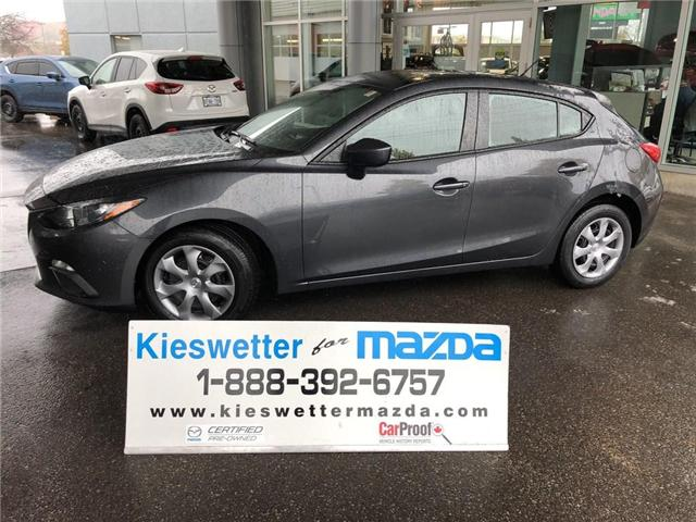2015 Mazda Mazda3 GX (Stk: U3716) in Kitchener - Image 1 of 25