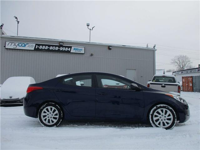 2013 Hyundai Elantra GL (Stk: 181670) in Kingston - Image 2 of 12