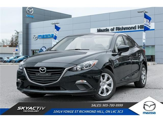2015 Mazda Mazda3 GX (Stk: P0335) in Richmond Hill - Image 1 of 18