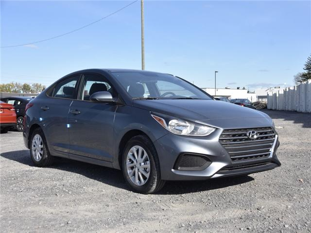 2019 Hyundai Accent Preferred (Stk: R95026) in Ottawa - Image 1 of 9