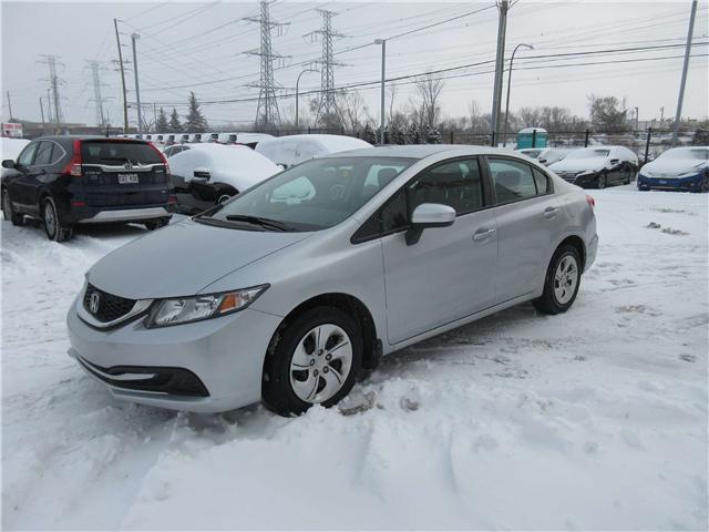 2014 Honda Civic LX (Stk: SS3258) in Ottawa - Image 1 of 8