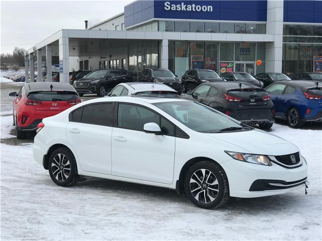 2013 Honda Civic EX (Stk: B7173A) in Saskatoon - Image 1 of 18