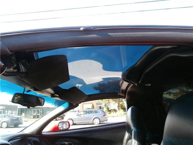 1998 Chevrolet Corvette Base (Stk: 01102) in Etobicoke - Image 10 of 17