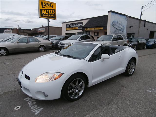 2008 Mitsubishi Eclipse Spyder Gt P At 7488 For Sale In Etobicoke