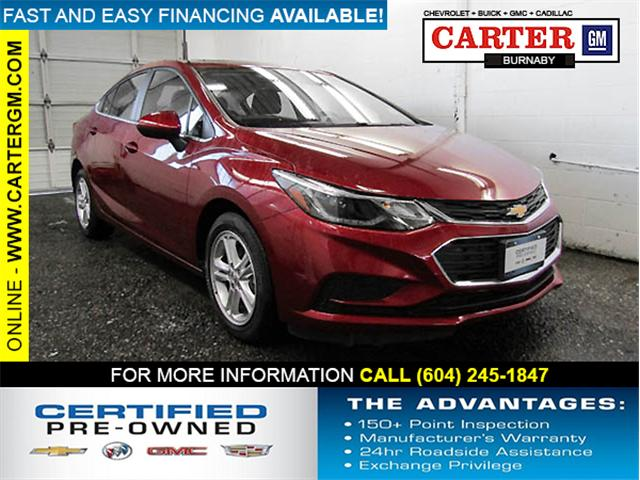 2018 Chevrolet Cruze LT Auto (Stk: P9-56620) in Burnaby - Image 1 of 23