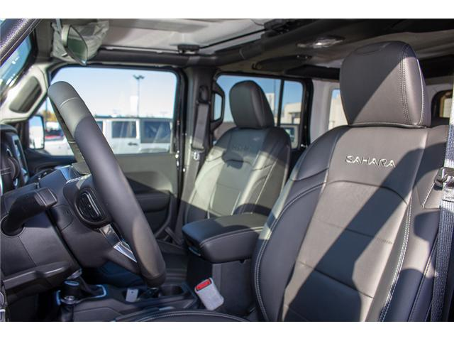 2018 Jeep Wrangler Unlimited Sahara (Stk: J153677) in Surrey - Image 11 of 29