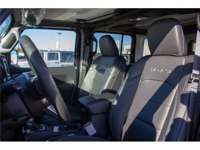 2018 Jeep Wrangler Unlimited Sahara (Stk: J153677) in Surrey - Image 12 of 29