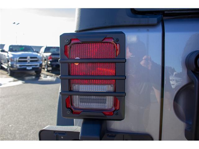 2018 Jeep Wrangler JK Unlimited Sport (Stk: J847088) in Surrey - Image 7 of 24