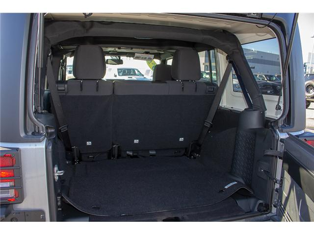 2018 Jeep Wrangler JK Unlimited Sport (Stk: J847088) in Surrey - Image 8 of 24