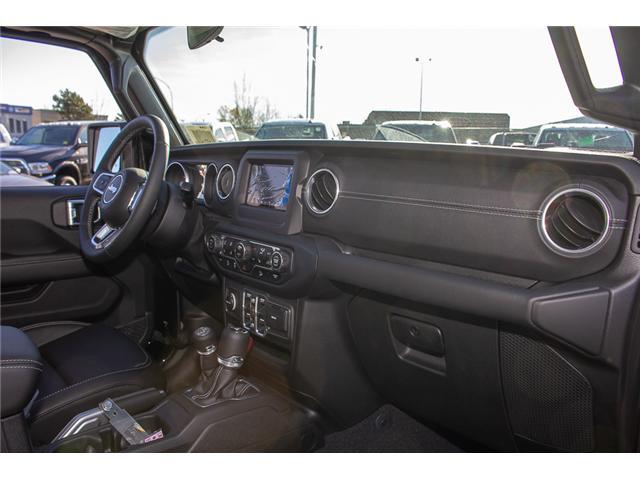 2018 Jeep Wrangler Unlimited Sahara (Stk: J153677) in Surrey - Image 20 of 29