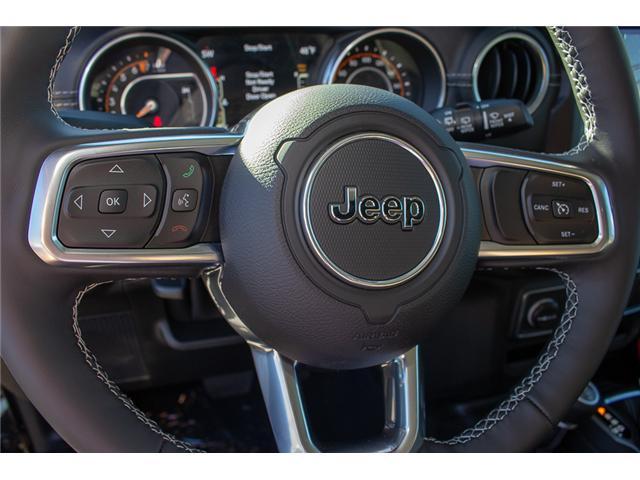 2018 Jeep Wrangler Unlimited Sahara (Stk: J153677) in Surrey - Image 25 of 29