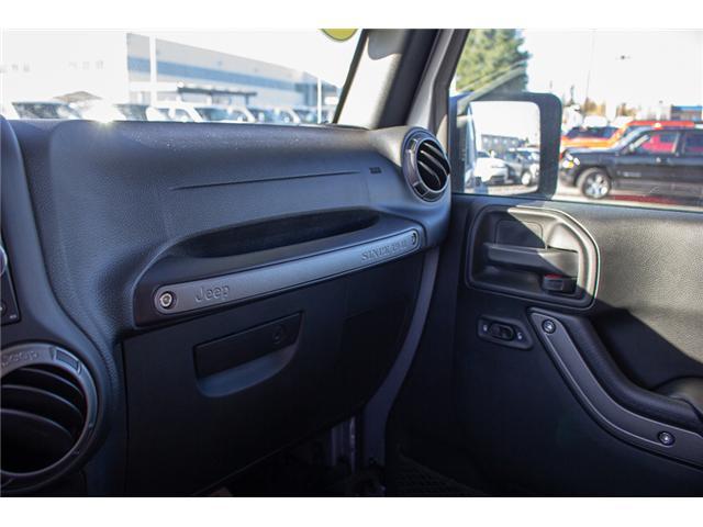 2018 Jeep Wrangler JK Unlimited Sport (Stk: J847088) in Surrey - Image 23 of 24