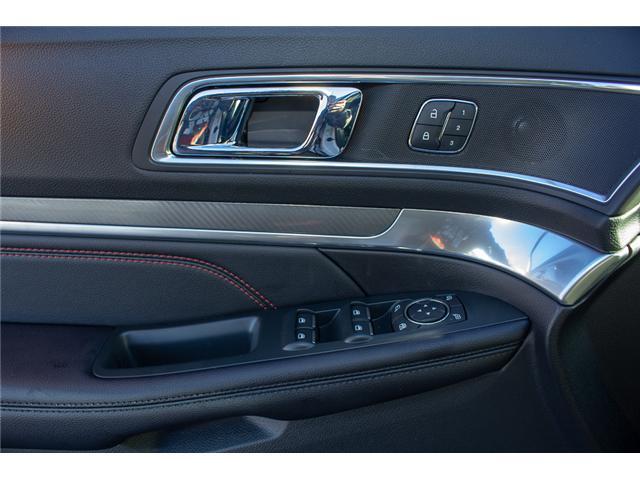 2018 Ford Explorer Sport (Stk: 8EX46344) in Surrey - Image 18 of 27