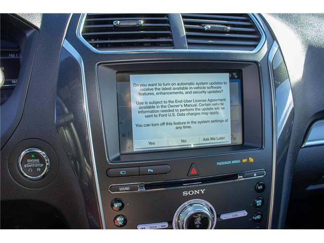 2018 Ford Explorer Sport (Stk: 8EX46344) in Surrey - Image 22 of 27