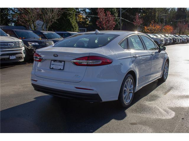 2019 Ford Fusion Hybrid SE (Stk: 9FU9461) in Vancouver - Image 7 of 26
