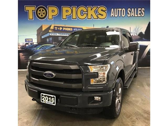 2016 Ford F-150 Lariat (Stk: 75743) in NORTH BAY - Image 1 of 30
