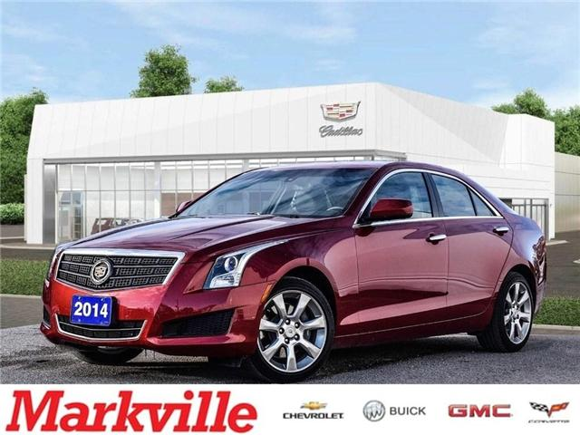 2014 Cadillac ATS AWD-LEATHER-ROOF-GM CERTIFIED PRE-OWNED-1 OWNER (Stk: P6261) in Markham - Image 1 of 27