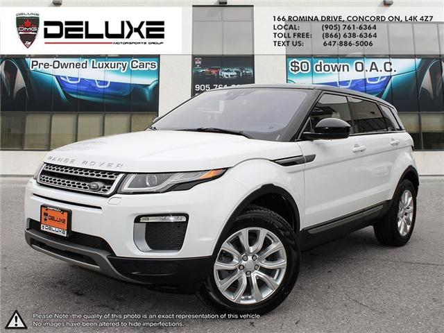 2016 Land Rover Range Rover Evoque SE (Stk: D0496) in Concord - Image 1 of 21