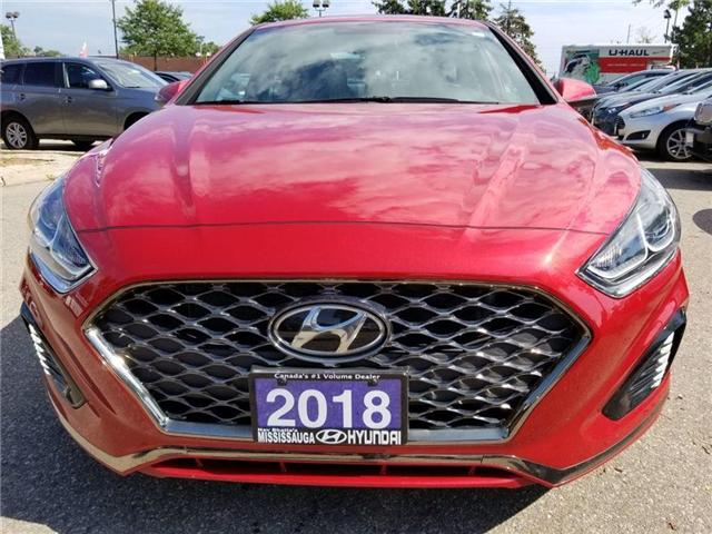 2018 Hyundai Sonata Sport-Alloy-Leather and sunroof (Stk: op9957) in Mississauga - Image 2 of 23