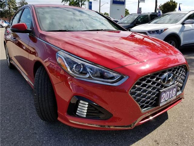 2018 Hyundai Sonata Sport-Alloy-Leather and sunroof (Stk: op9957) in Mississauga - Image 3 of 23