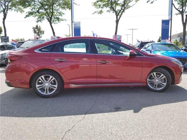 2018 Hyundai Sonata Sport-Alloy-Leather and sunroof (Stk: op9957) in Mississauga - Image 4 of 23