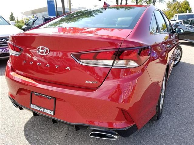 2018 Hyundai Sonata Sport-Alloy-Leather and sunroof (Stk: op9957) in Mississauga - Image 5 of 23