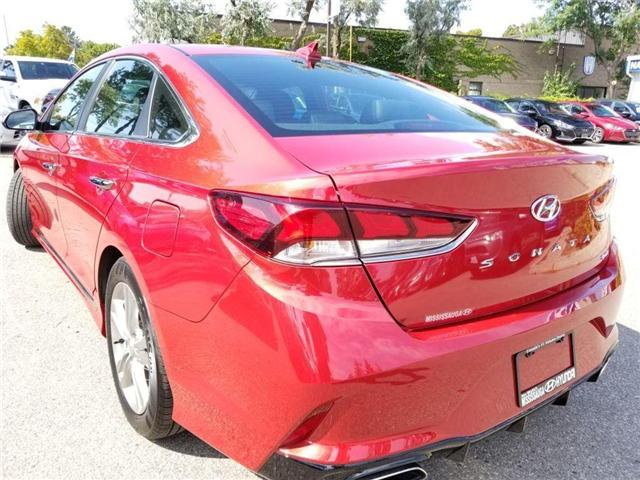 2018 Hyundai Sonata Sport-Alloy-Leather and sunroof (Stk: op9957) in Mississauga - Image 7 of 23