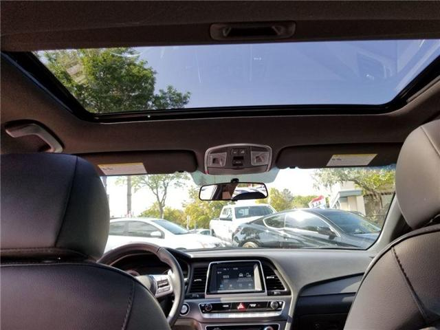 2018 Hyundai Sonata Sport-Alloy-Leather and sunroof (Stk: op9957) in Mississauga - Image 13 of 23