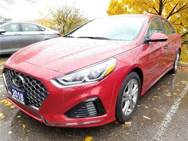 2018 Hyundai Sonata Sport-low kms great deal (Stk: op10007) in Mississauga - Image 1 of 18