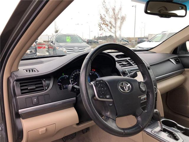 2012 Toyota Camry Hybrid  (Stk: D190249B) in Mississauga - Image 11 of 16