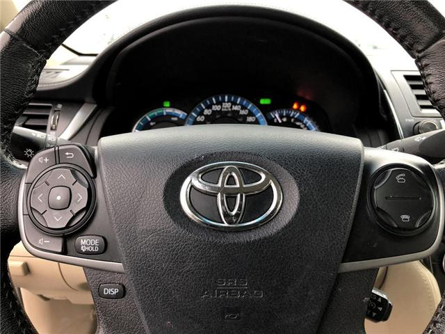 2012 Toyota Camry Hybrid  (Stk: D190249B) in Mississauga - Image 12 of 16
