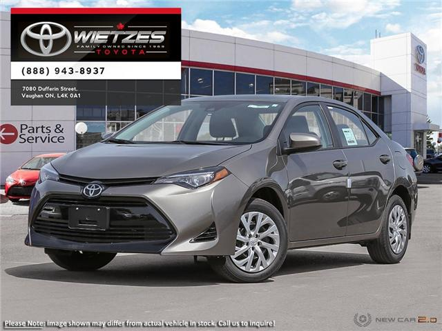 2019 Toyota Corolla LE (Stk: 67719) in Vaughan - Image 1 of 24