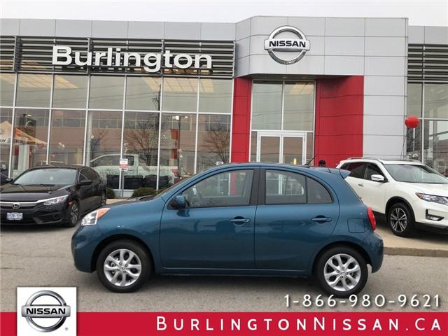2018 Nissan Micra SV (Stk: A6613) in Burlington - Image 1 of 18