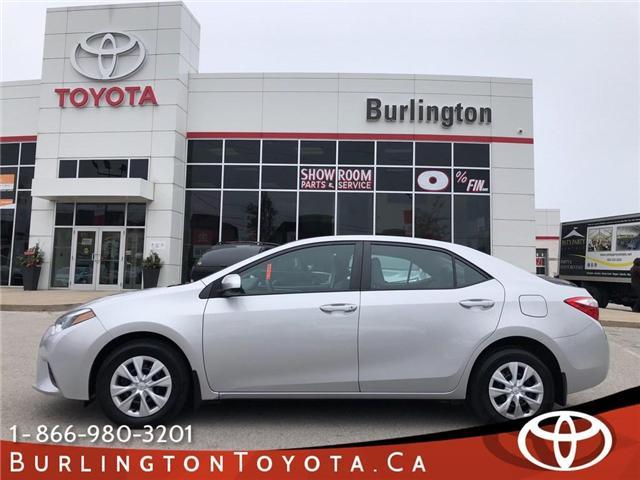 2015 Toyota Corolla  (Stk: U10469) in Burlington - Image 1 of 19