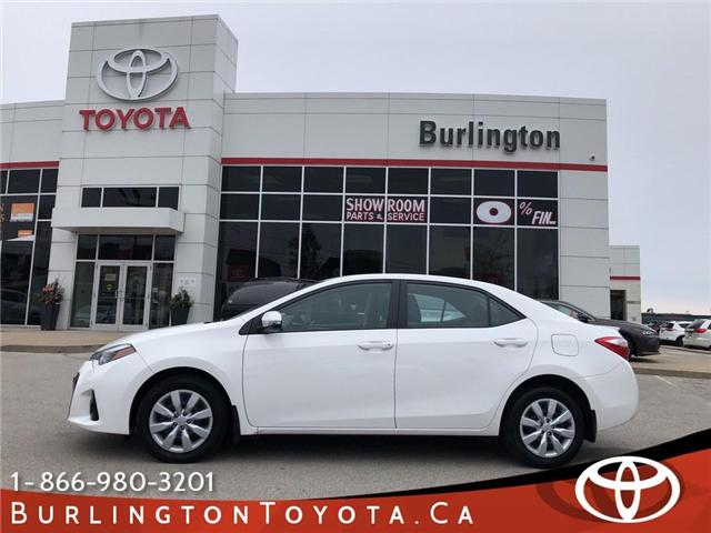 2016 Toyota Corolla Sport (Stk: U10465) in Burlington - Image 1 of 18
